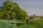 Summer Pasture by Arthur Wilkinson part of our Watercolor Gallery