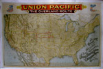 Union Pacific - The Overland Route - 1896
